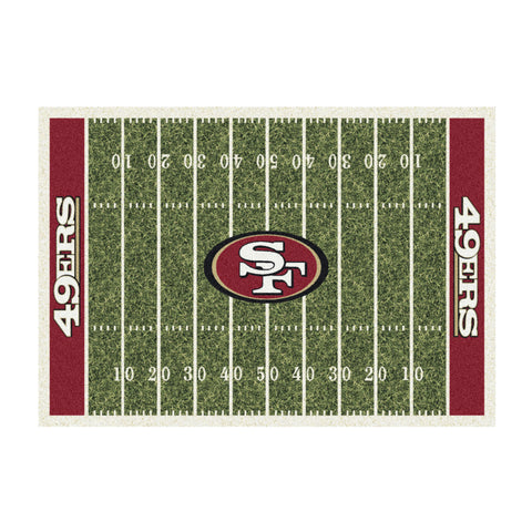 San Francisco 49Ers 8X11 Homefield Rug