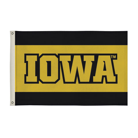 Iowa Hawkeyes 2' X 3' Flag 006