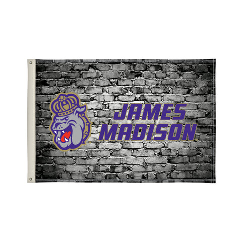 James Madison Dukes 2' X 3' Flag 003
