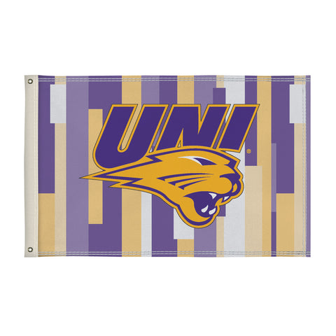 Northern Iowa Panthers 2' X 3' Flag 001