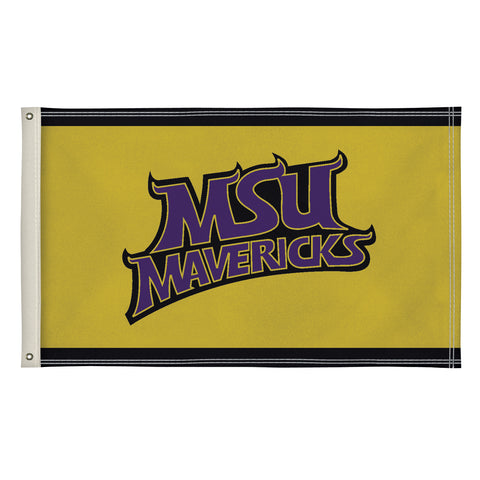 Minnesota State Mavericks 3' X 5' Flag 002