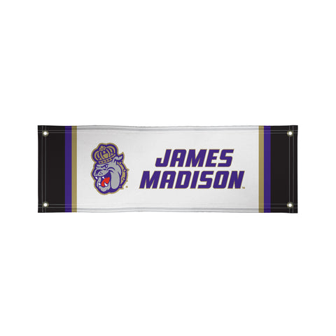 James Madison Dukes 2' X 6' Vinyl Banner 003
