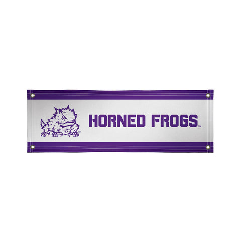 Tcu Horned Frogs 2' X 6' Vinyl Banner 001
