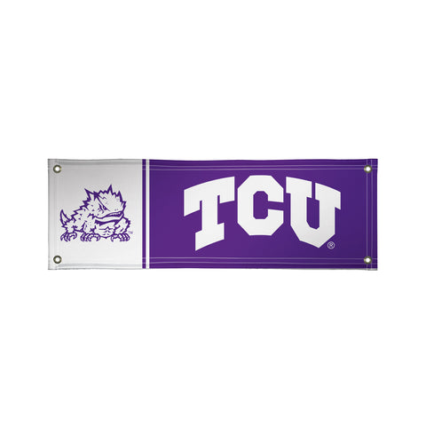 Tcu Horned Frogs 2' X 6' Vinyl Banner 003