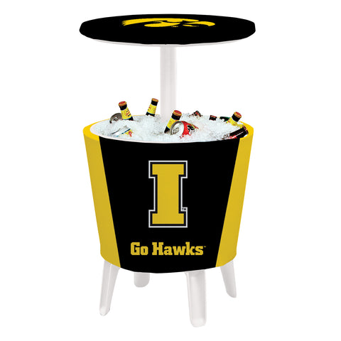 Iowa Hawkeyes Event Cooler Table 003