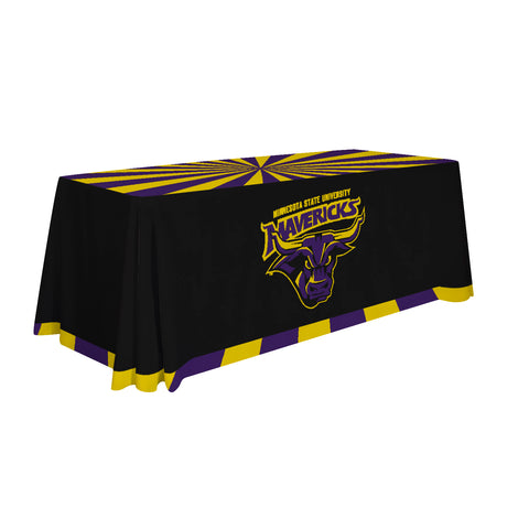 Minnesota State Mavericks 6' Table Throw 002