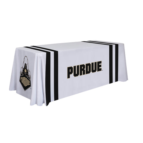 Purdue Biolermakers 6' Table Throw 002