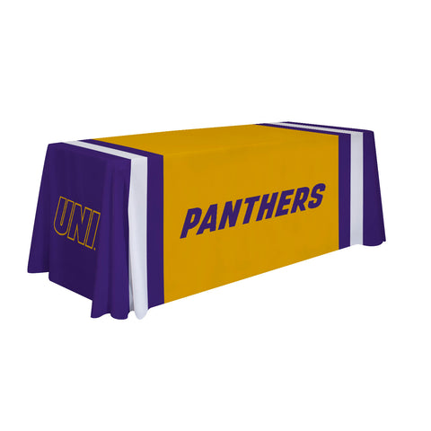Northern Iowa Panthers 6' Table Throw 001