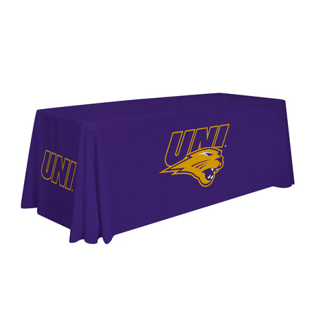 Northern Iowa Panthers 6' Table Throw 002