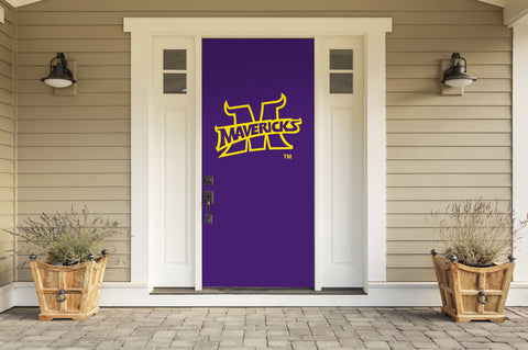 "Minnesota State Mavericks 36"" X 80"" Front Door Decor 001"