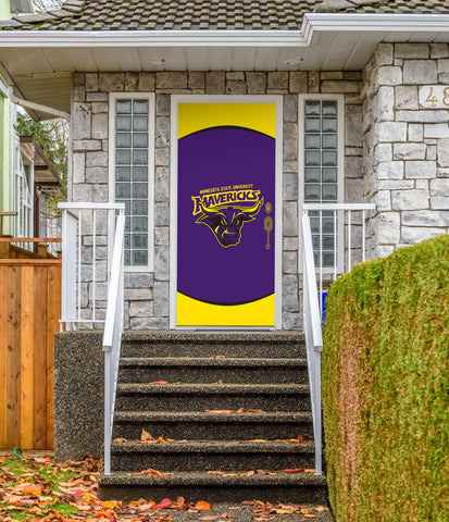 "Minnesota State Mavericks 36"" X 80"" Front Door Decor 002"