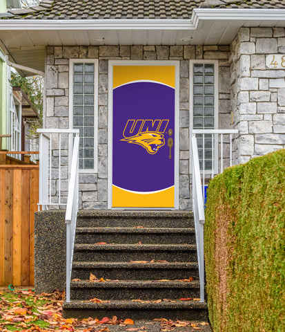 "Northern Iowa Panthers 36"" X 80"" Front Door Decor 002"