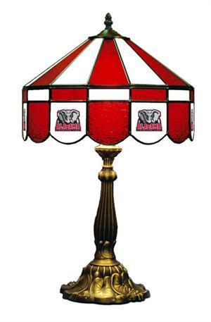 Alabama Crimson Tide Elephant Table Lamp