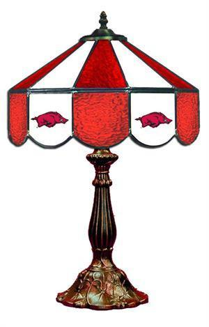 Arkansas Razorbacks Table Lamp 21 in High