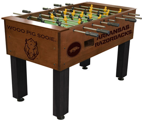 Arkansas Razorbacks Foosball Table
