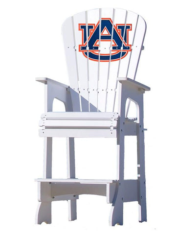 Auburn Tigers Adirondack Bar Stool