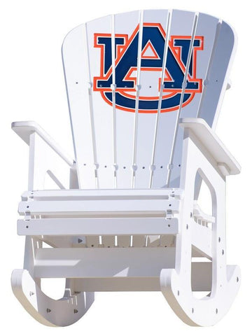 Auburn Tigers Adirondack Rocking Chair