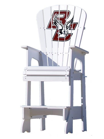 Boston College Eagles Adirondack Bar Stool