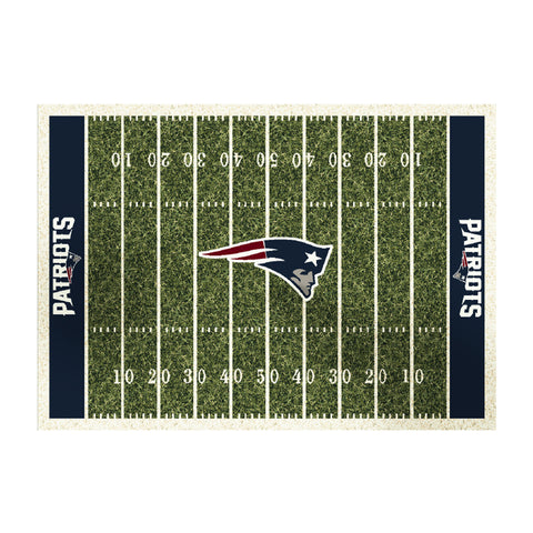 New England Patriots 6X8 Homefield Rug