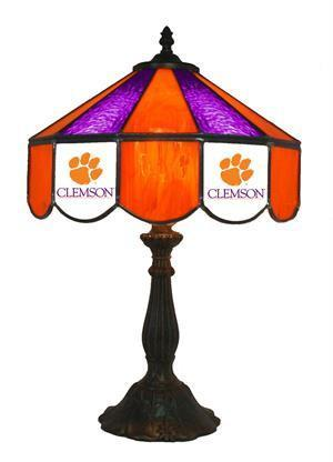 Clemson University Table Lamp 21 in High