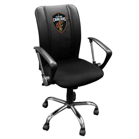 Cleveland Cavaliers NBA Curve Task Chair with Global Logo