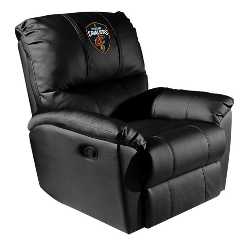 Cleveland Cavaliers NBA Rocker Recliner with Global Logo