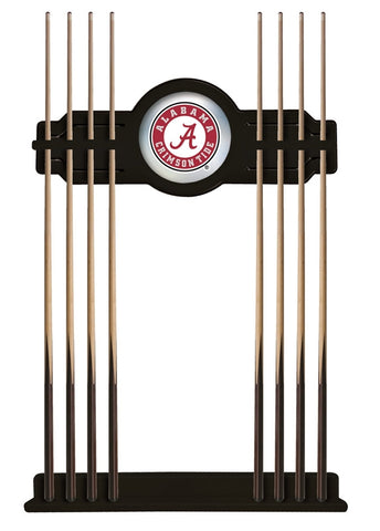 "Alabama Crimson Tide ""A"" Cue Rack in Black"