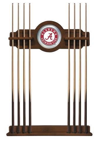 "Alabama Crimson Tide ""A"" Cue Rack in Chardonnay"