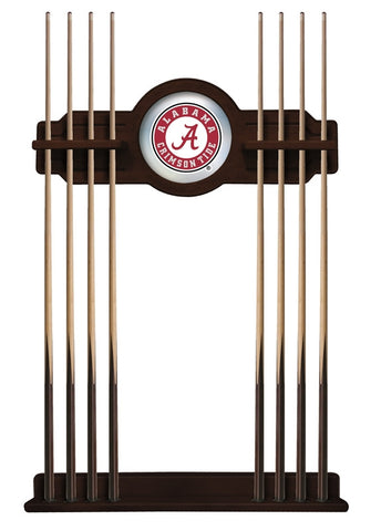 "Alabama Crimson Tide ""A"" Cue Rack in English Tudor"