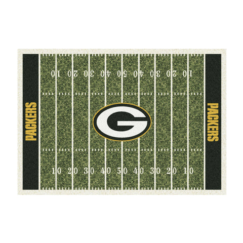 Green Bay Packers 8X11 Homefield Rug