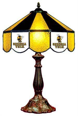 Georgia Tech Table Lamp 21 in High