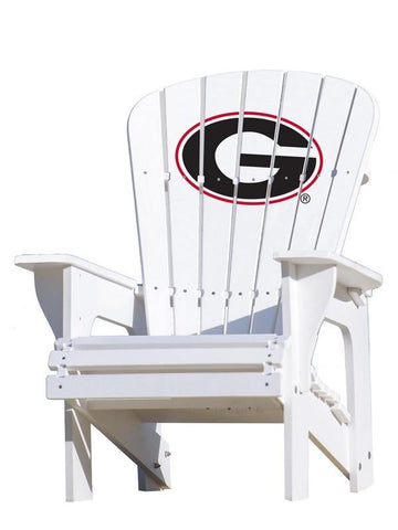 Georgia Bulldogs Logo Adirondack Chair