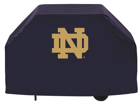 "Notre Dame Fighting Irish 72"" Grill Cover ND Logo"