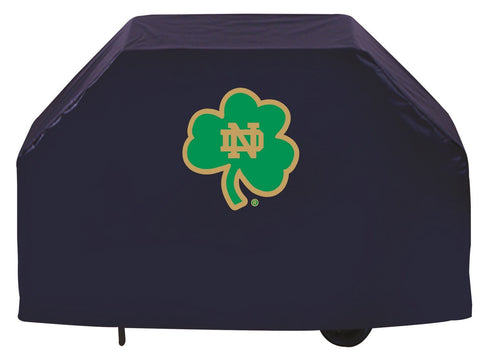 "Notre Dame Fighting Irish 72"" Grill Cover Shamrock"