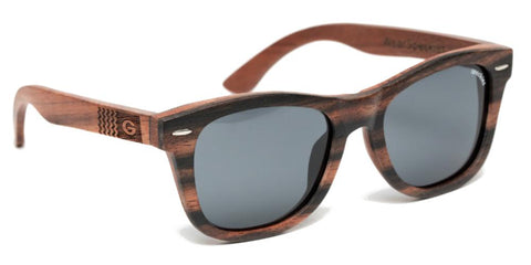 Georgia Bulldogs Kalahari Wood Sunglasses