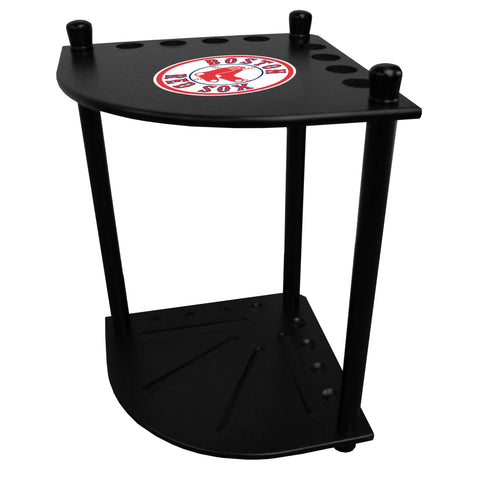 Boston Red Sox Corner Cue Rack