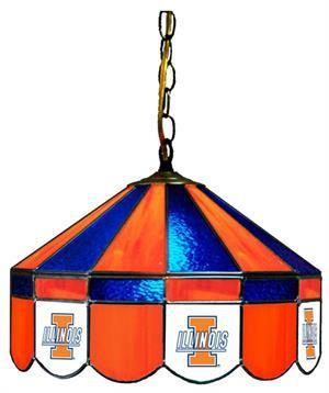 "Illinois Fighting Illini 16"" Swag Hanging Lamp"