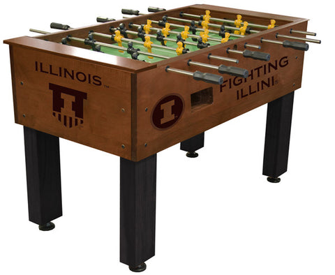 Illinois Fighting Illini Foosball Table