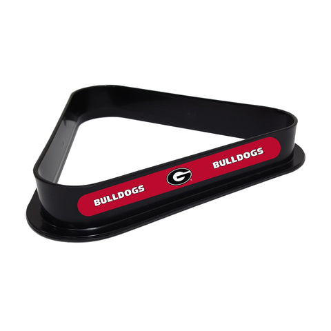 Georgia Bulldogs Plastic 8 Ball Rack