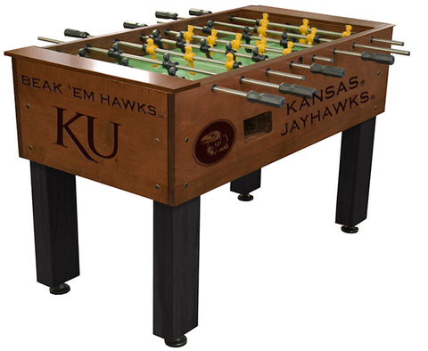 Kansas Jayhawks Foosball Table