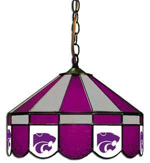 "Kansas State Wildcats 16"" Swag Hanging Lamp"