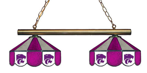 Kansas State Wildcats 2 Shade Hanging Logo Light