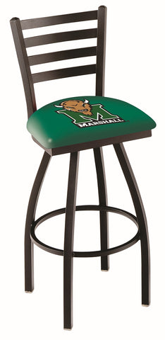 Marshall Thundering Herd Ladder Back Bar Stool 25""