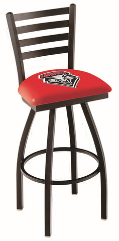 New Mexico Lobos Ladder Back Bar Stool 25""
