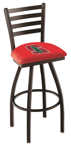 Stanford Cardinal Ladder Back Bar Stool 25""