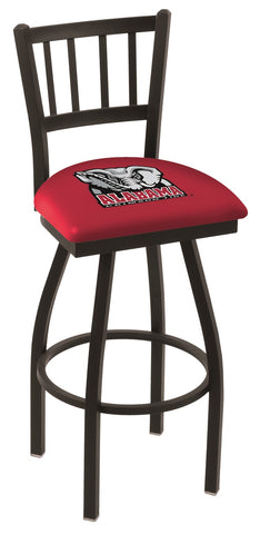 Alabama Crimson Tide Jail Back Bar Stool 30""