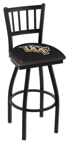 Central Florida Knights Jail Back Bar Stool 30""