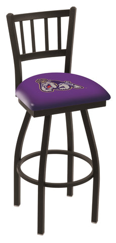 James Madison Dukes Jail Back Bar Stool 30""