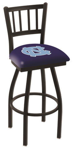 North Carolina Tar Heels Jail Back Bar Stool 25""