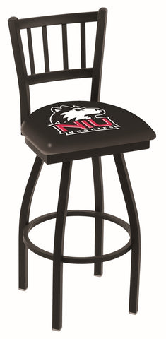 Northern Illinois Huskies Jail Back Bar Stool 25""